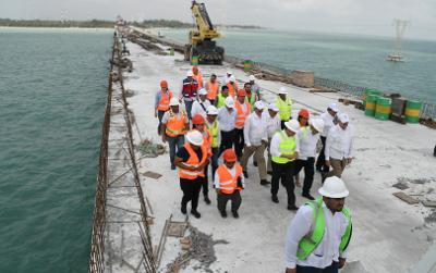 Van 250 mdp para concluir Puente de la Unidad en Campeche
