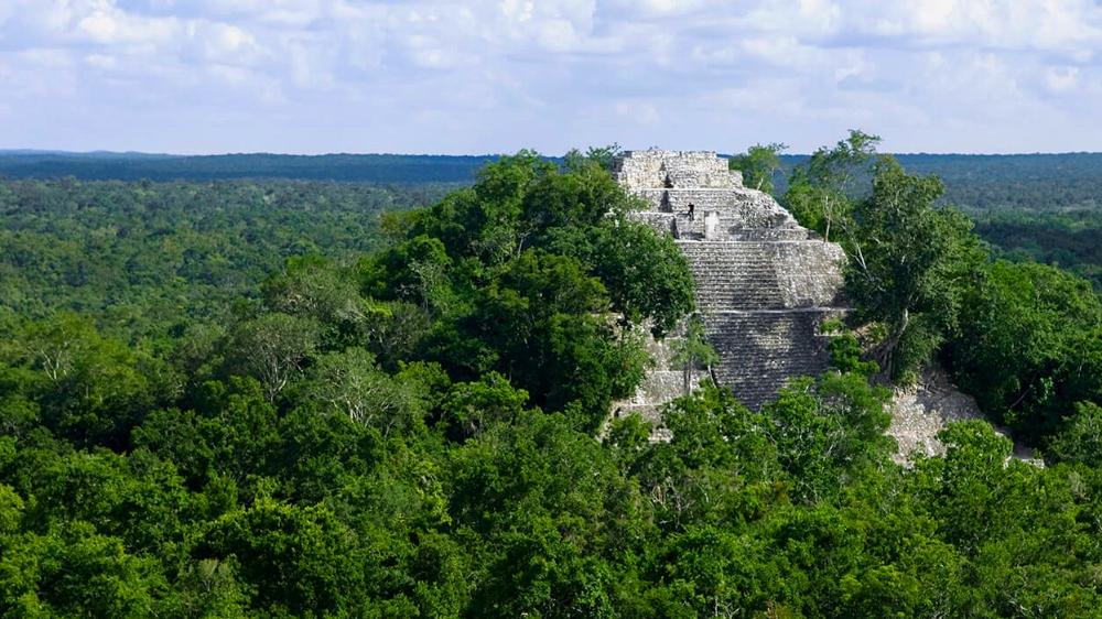 Calakmul dentro de la ruta de Tren Maya en Campeche