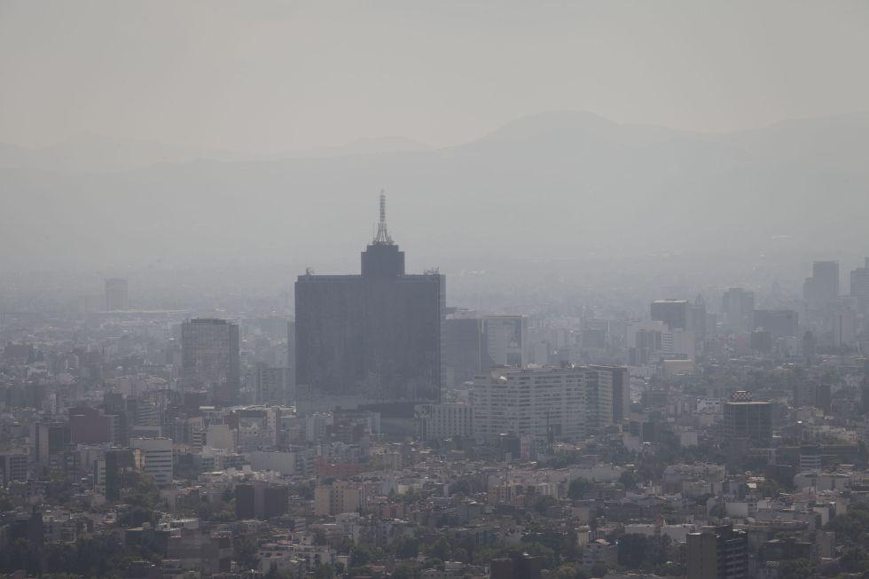 Continúa mala calidad del aire en el Valle de México