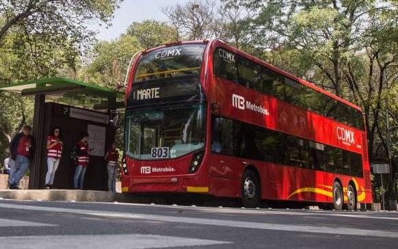 Por manifestantes, servicio provisional en Metrobús de Indios Verdes a Hidalgo y Campo Marte a El Ángel