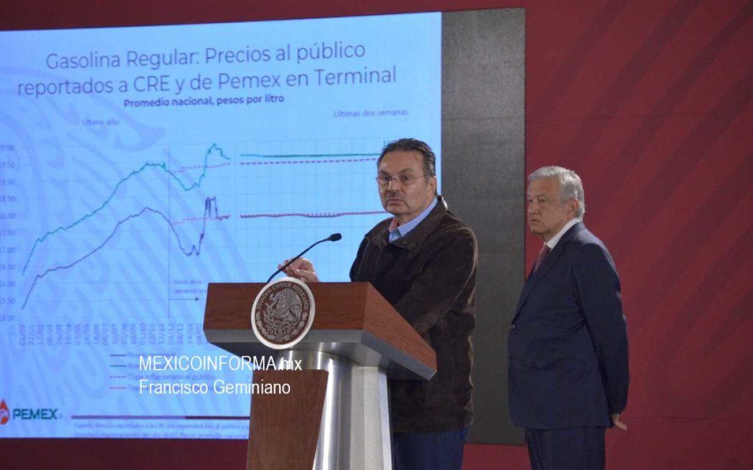 Cumple gobierno no aumentar precios de gasolina: Romero Oropeza