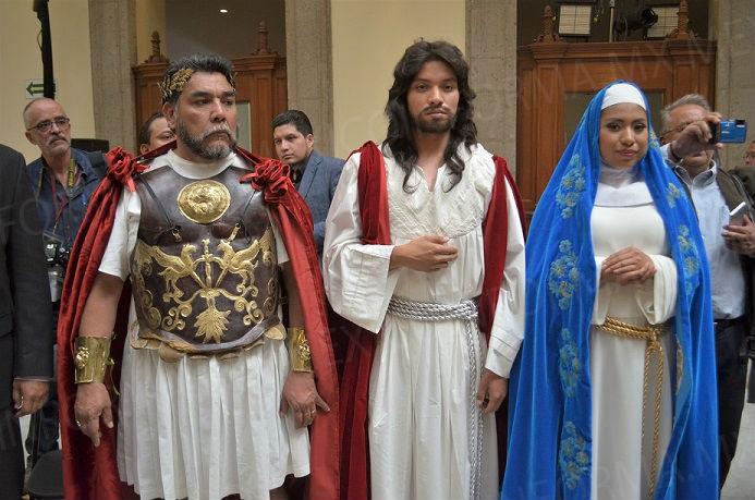 Alistan seguridad para representación de la Pasión de Cristo en Iztapalapa