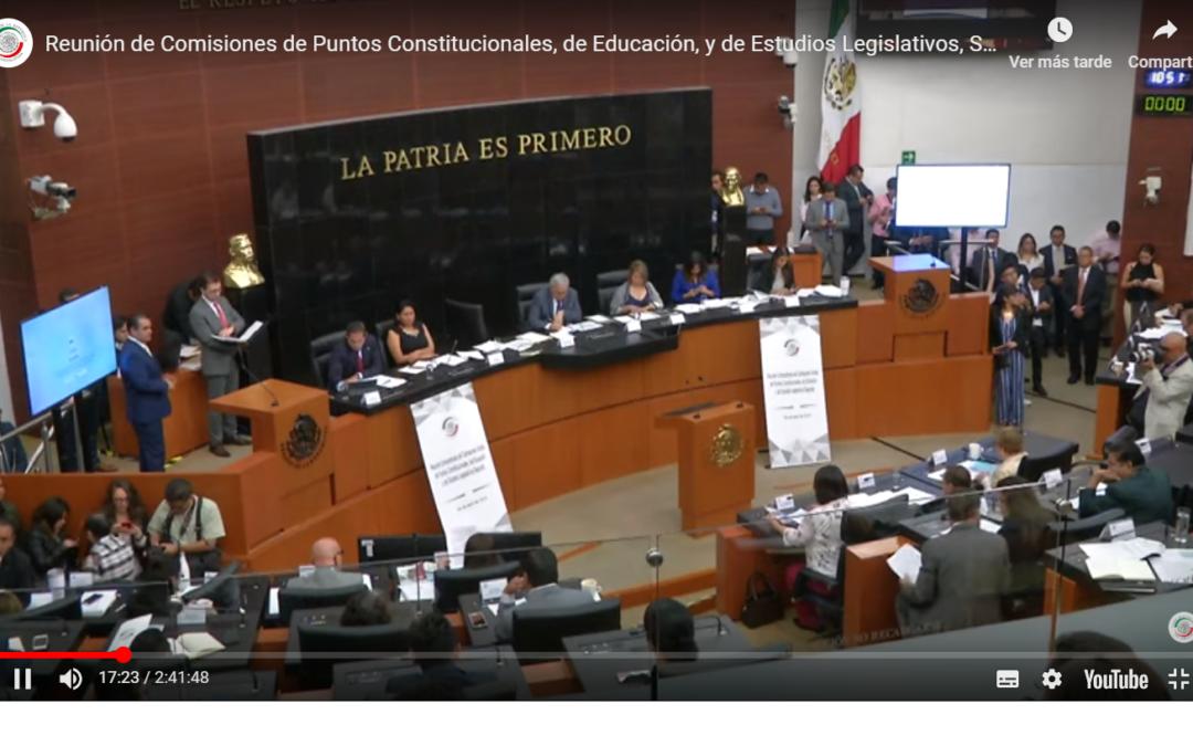 Regresan reforma Educativa a San Lázaro; no alcanza dos terceras partes de votos