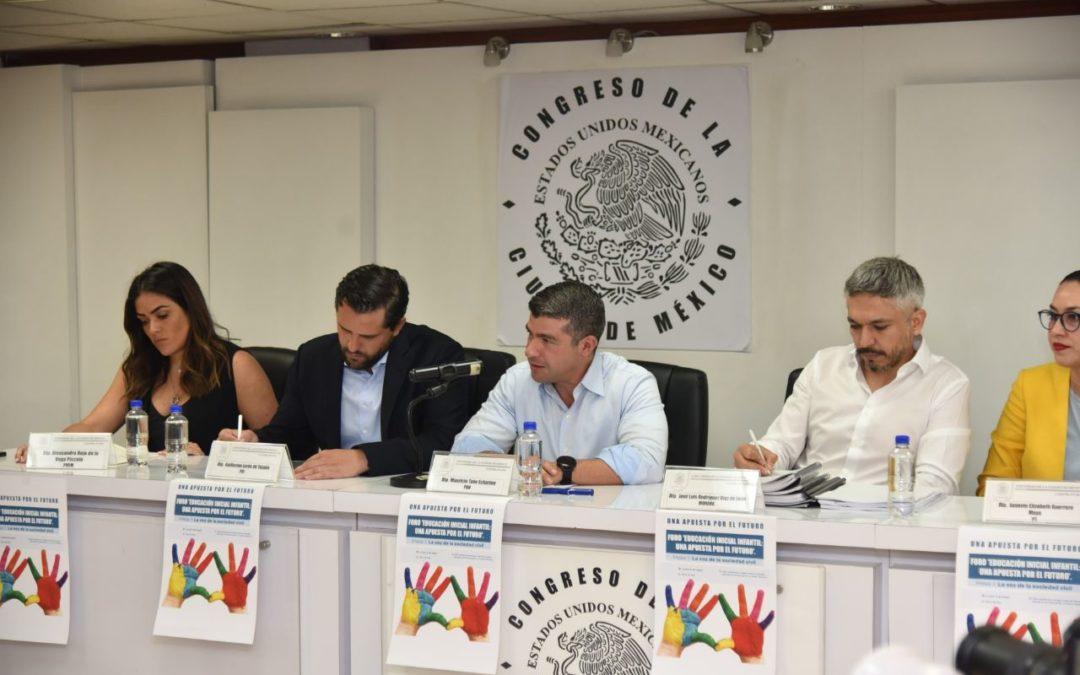 Primera infancia une a diputados del Congreso CDMX