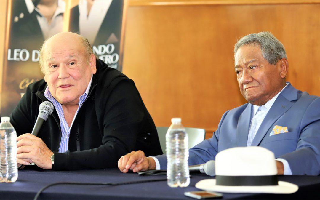 Manzanero y Leo Dan juntos en el Auditorio