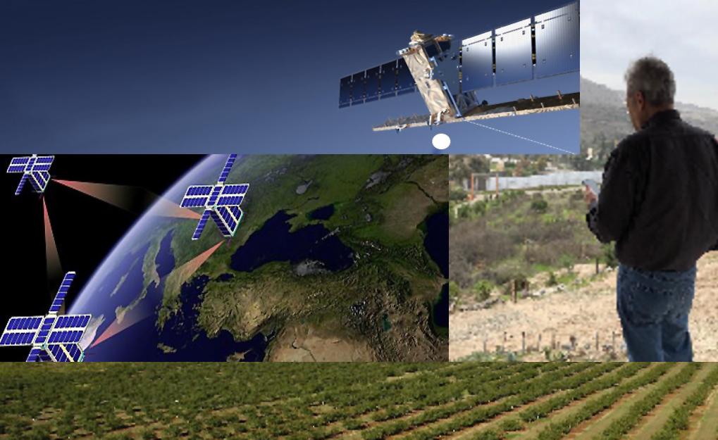 Agencia Espacial Mexicana impulsará sector agrícola con satélites
