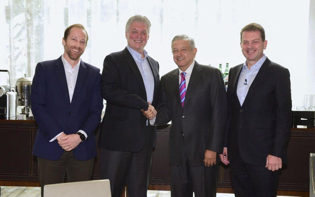 López Obrador se reúne con banqueros