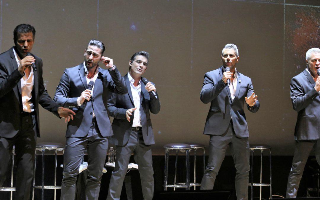 Los Caballeros también cantan, en el Roberto Cantoral
