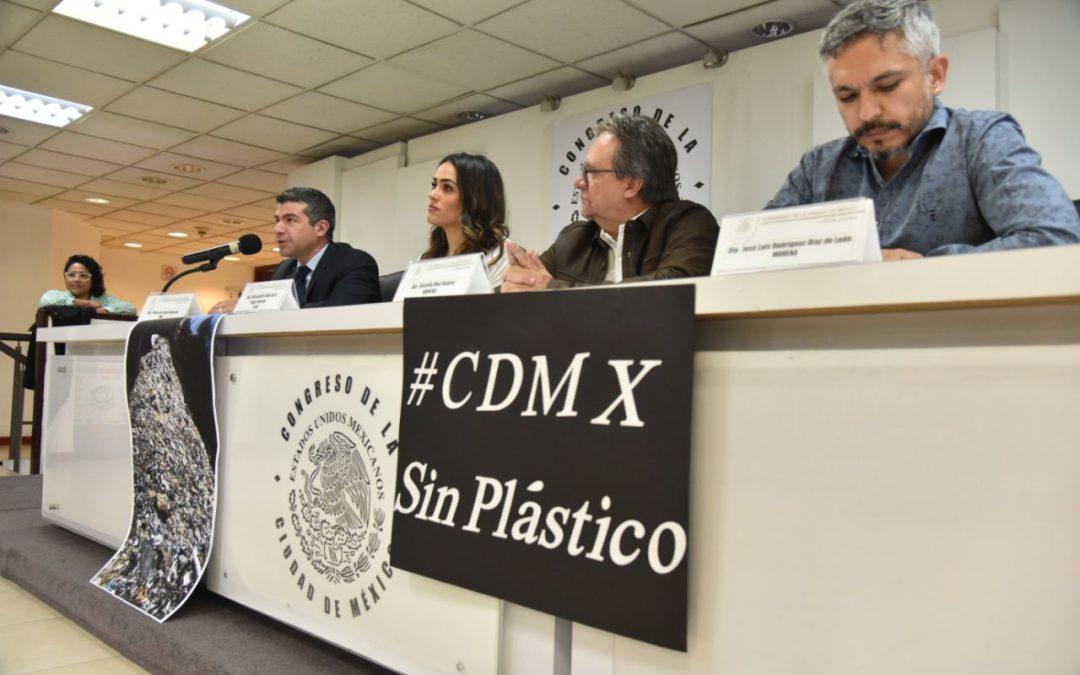 PAN se une a la lucha por una CDMX sin plástico
