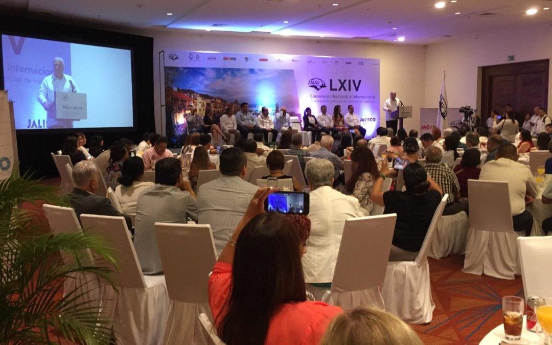 Inauguran en Puerto Vallarta 64 Convención Internacional de Agencias de Viajes