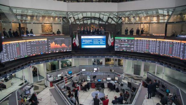 Bolsa Mexicana opera con descenso