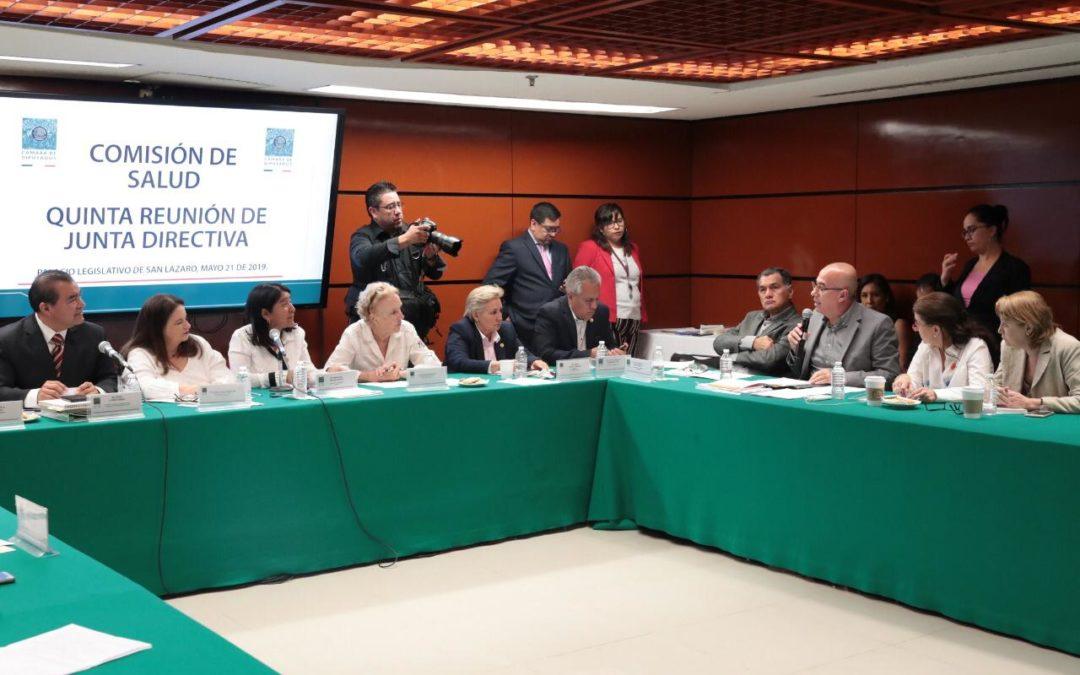 Pide Comisión reunión con titular de SHCP por recursos al sector salud
