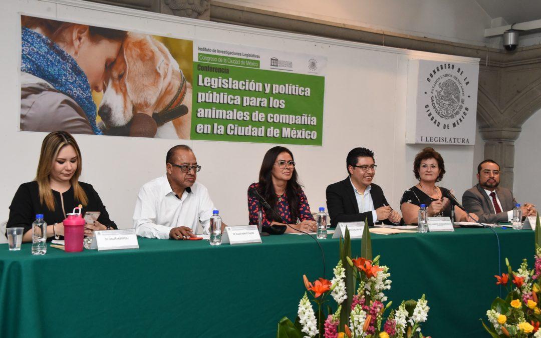 Congreso de CDMX fortalecerá legislación en favor de animales