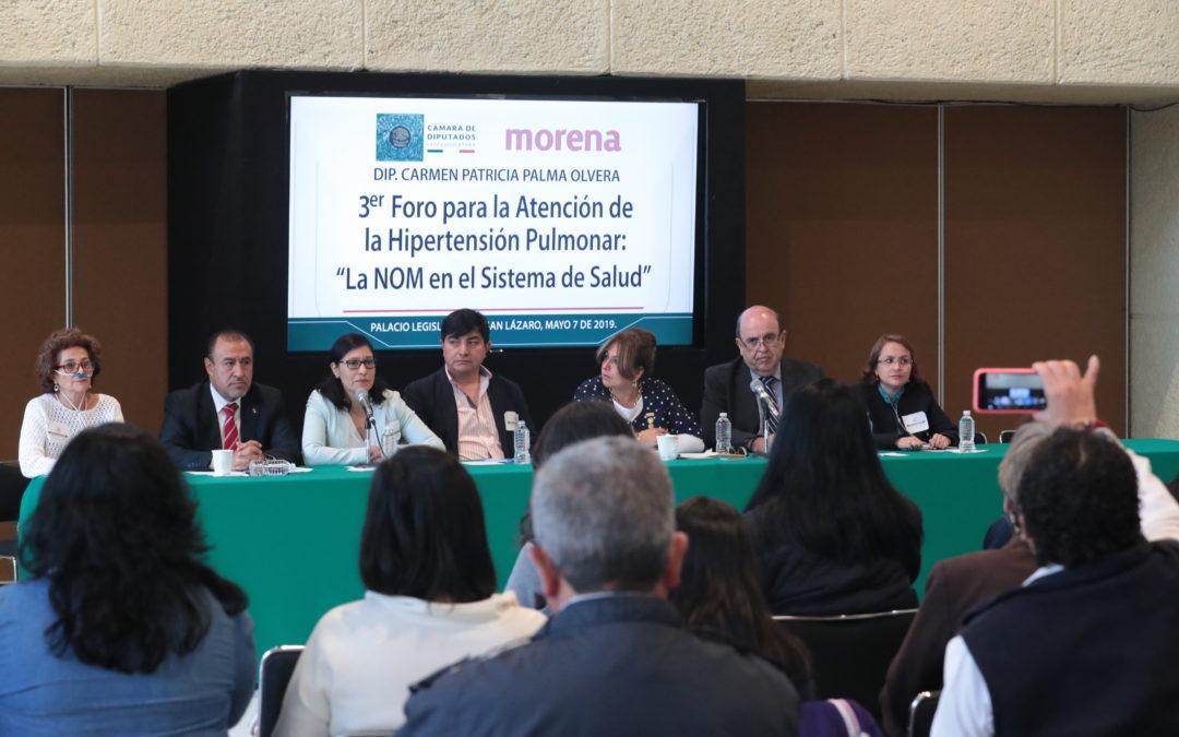 Piden a diputados homologar terapias para hipertensión pulmonar