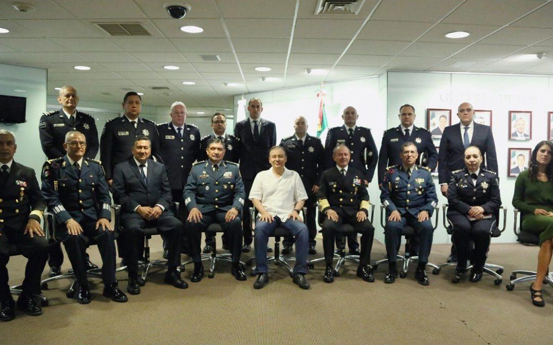 Durazo encabeza incorporación de Policía Federal a GN