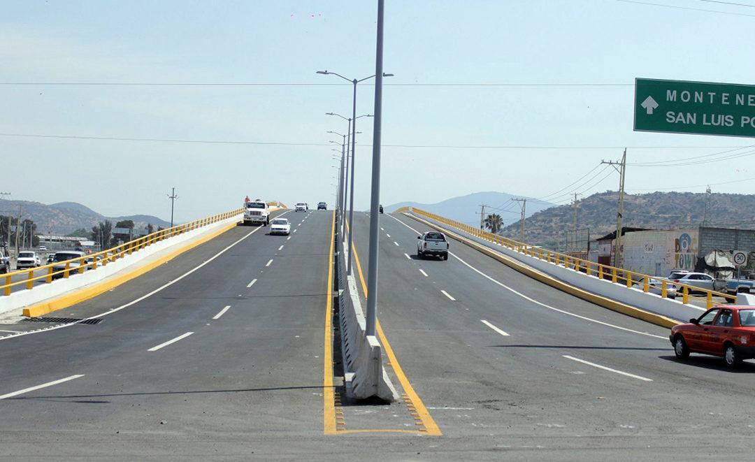 Entronque en Querétaro da fluidez a mercancías a la frontera norte