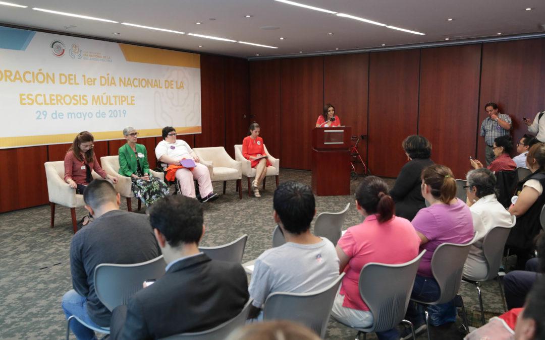 Conmemoran en Senado  Primer Día Nacional de la Esclerosis Múltiple