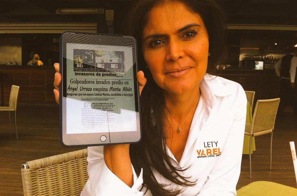 Acusa Diputada Varela a alcalde de Benito Juárez  de opacidad