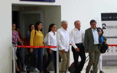 Acompaña senador Monreal a AMLO en su gira por Zacatecas
