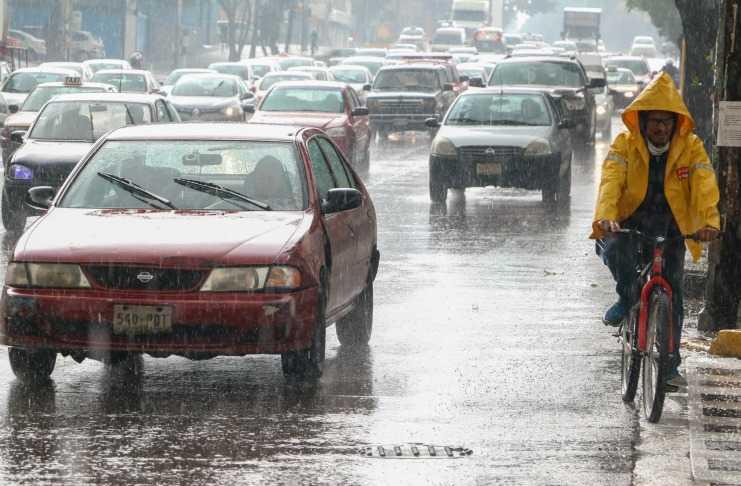 Se prevén lluvias y  granizo al sur y poniente de la ciudad