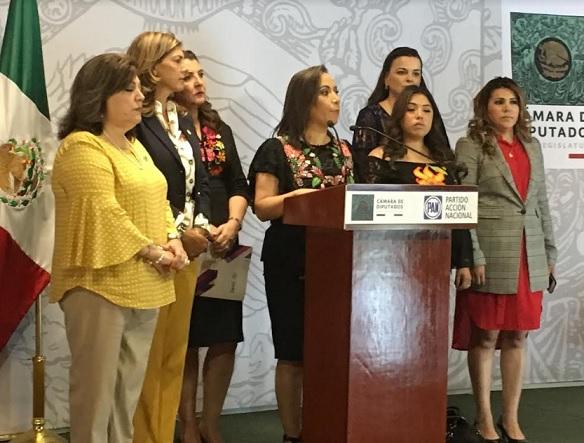 Diputadas del PAN piden a AMLO no olvide a las mujeres