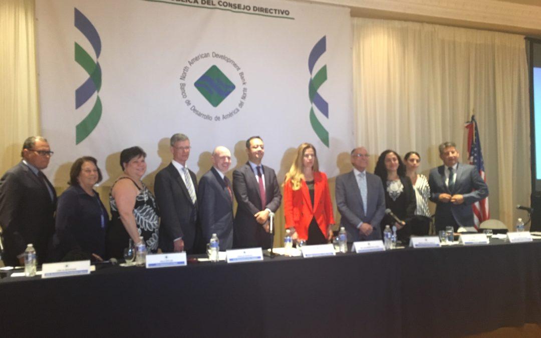 Otorga BDAN  a México 10.5 mdd para tres proyectos ambientales