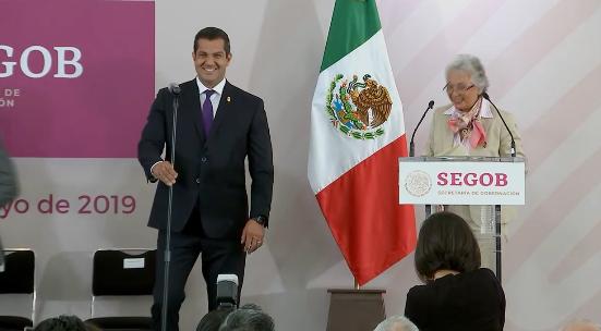 Ricardo Peralta Saucedo, nuevo subsecretario de Gobernación