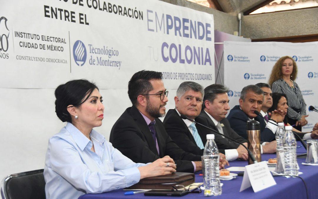 Tec de Monterrey coadyuvará con CDMX en proyectos para fortalecer el tejido social