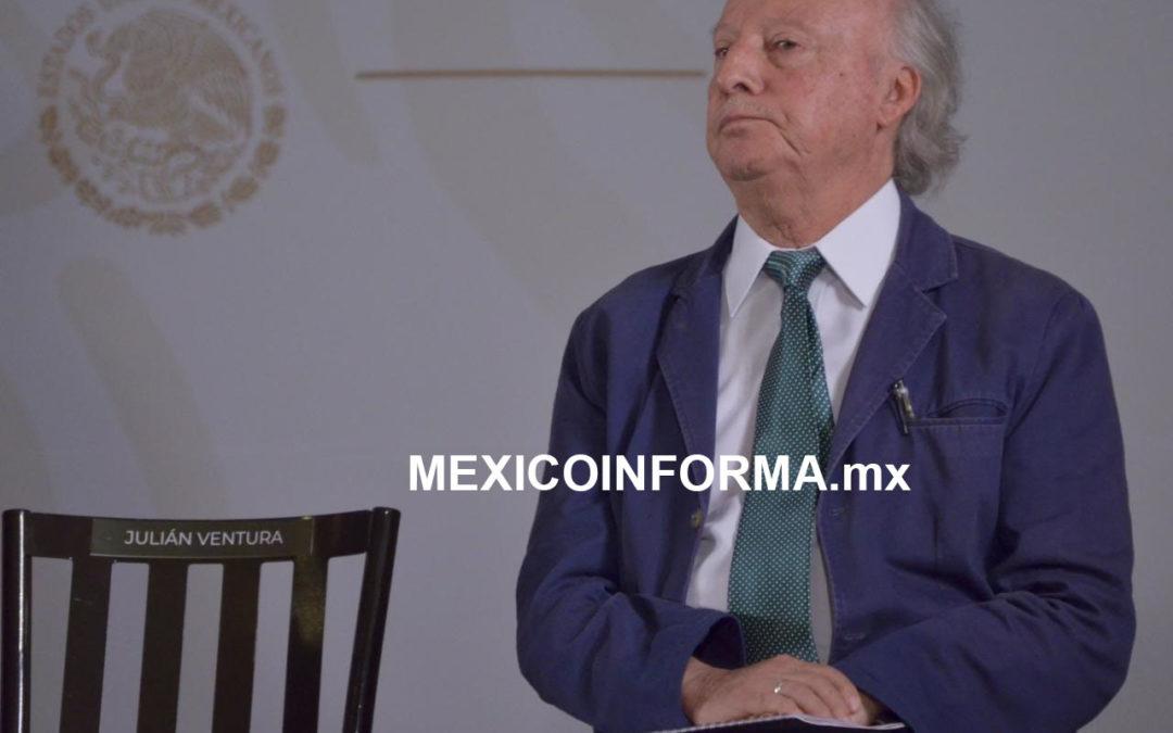 Presenta López Obrador a Toledo, titular de Semarnat