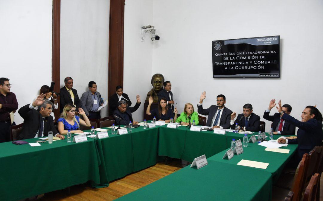 Congreso CDMX aprueba reformas a la Ley de Transparencia
