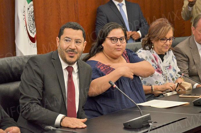 Solicitará Senado protección para senadora Citlalli Hernández