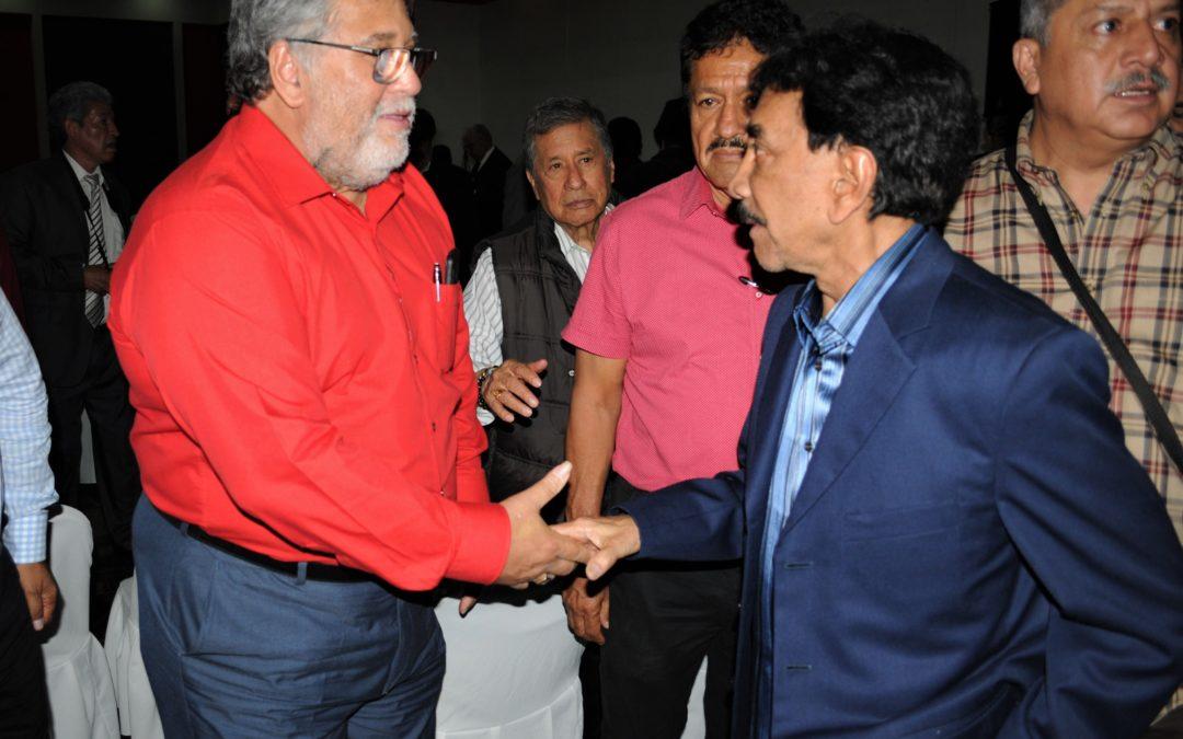 Líder de ferrocarrileros defiende cuotas para jubilados del gremio