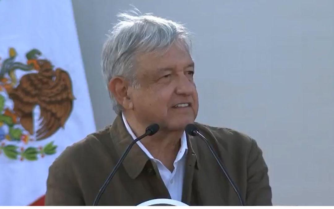 El pueblo de México es mucha pieza, López Obrador
