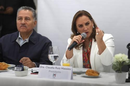 Cerrar filas es necesario, pero no suficiente: Ruiz Massieu