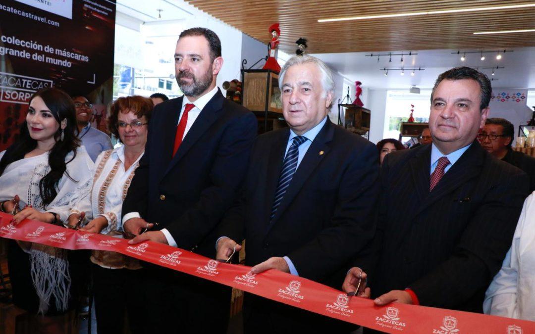 "Inauguran la Expo ""Zacatecas deslumbra en Punto México"""