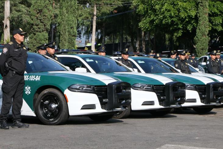 Entrega Sheinbaum 32 nuevas patrullas a la Magdalena Contreras