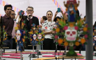 En consulta popular elegirán ofrenda monumental de Día de Muertos