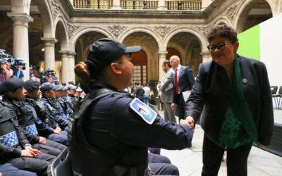 Presentan Comisiones contra y violencia a mujeres policías