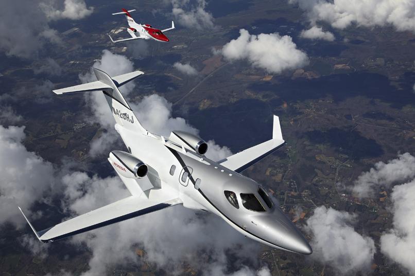 HondaJet es el avión con más entregas de su clase en 2019