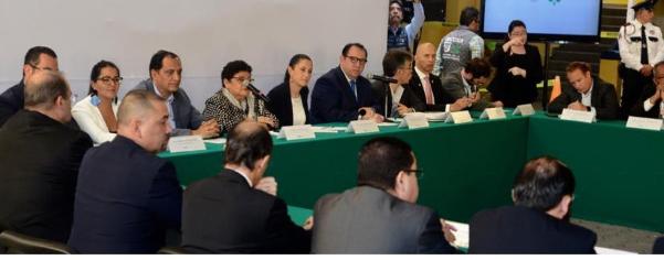 Sheinbaum firma convenios de colaboración para la seguridad estudiantil
