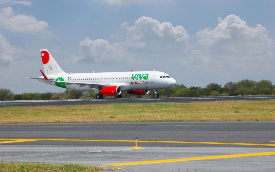 Lanza Viva Aerobus su ruta nacional 100: Puerto Vallarta – Tijuana