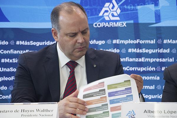 Pide Coparmex no favorecer a Pemex y CFE violentando el marco jurídico
