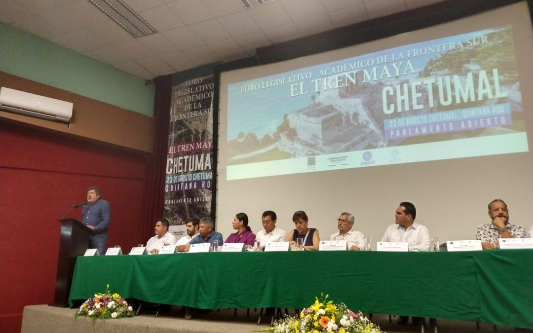 FONATUR anuncia la llegada del Tren Maya a Chetumal