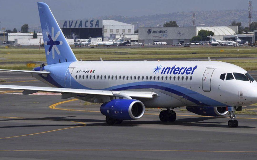 Falso que operemos sólo con dos aviones: Interjet