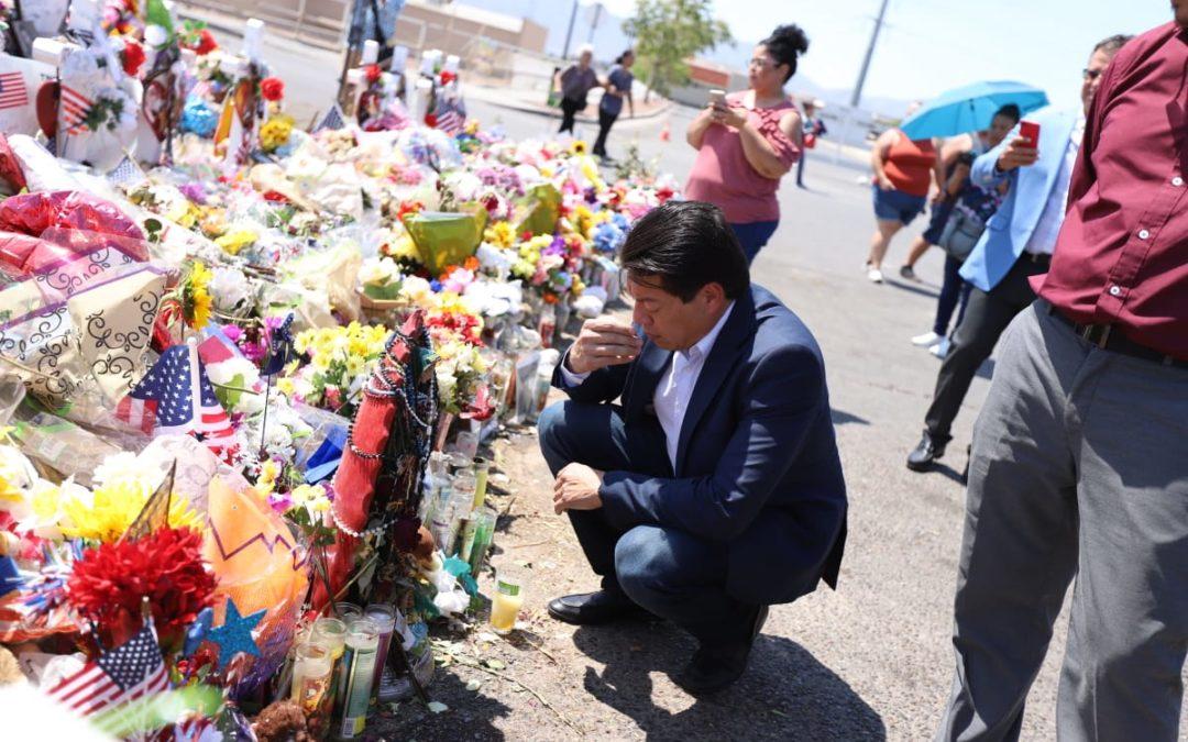 Mario Delgado expresa rechazo a discursos de odio y llama a la fraternidad