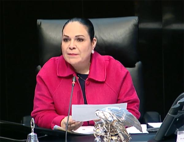 Pide Senadora a Monreal no se incluya su nombre en reelección