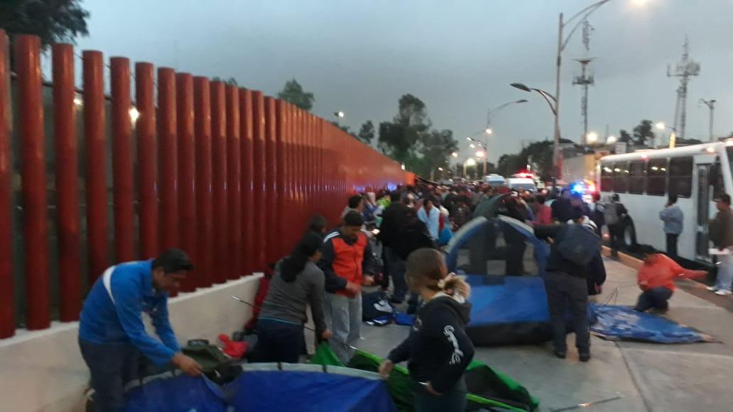 Bloquea CNTE San Lázaro por Reforma Educativa