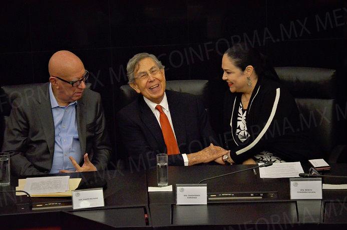 Homenaje en Senado a Cuahtémoc Cárdenas