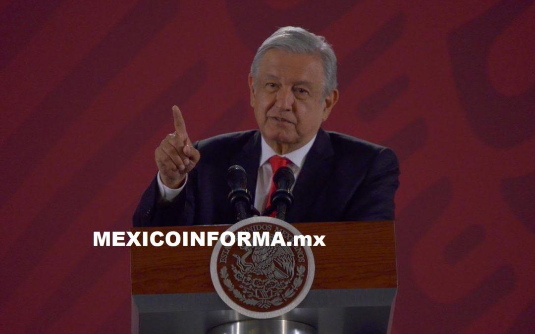 Invita AMLO a la población a celebrar fiestas patrias y gritar ¡Viva México!