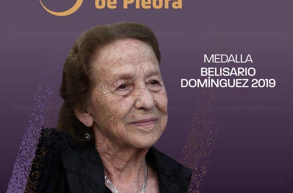 Para Rosario Ibarra medalla Belisario Domínguez